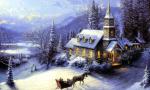 "Thomas Kincaid's ""Christmas"""