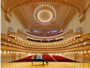 Carnegie Hall--the most coveted stage in the world