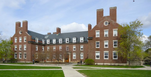 Burton Hall, University of Rochester. My room was 3rd floor on the left, behind that tree.