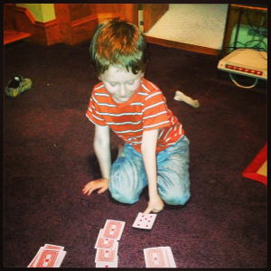 Teaching Declan Cards