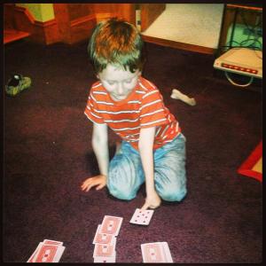 Teaching Declan Cards