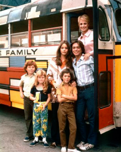 What's bigger than a minivan? The Partridge Family bus!